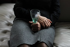 (Anne-Sophie Landou) Tags: family light portrait people woman house black france green texture love home glass girl beautiful beauty lines composition canon vintage dark french person grey marseille blurry glamour hands pretty poetry sitting colours legs emotion skin grandmother expression girly feminine interior fingers bodylanguage atmosphere indoor skirt poetic livingroom couch attitude human portraiture memory mysterious expressive dreamy inside elegant cinematic emotive pleats canonphotography youngphotographer frenchphotographer womanphotographer disturbia