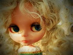 Happy Thursday! (Liz/Daifuku_Darling) Tags: cute vintage bigeyes mohair kenner custom 1972kennerblythe customkenner