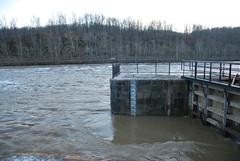 McConnelsville Lock & Dam #7 (Bitmapped) Tags: ohio usa unitedstates rivers mississippiriver ohioriver morgancounty mcconnelsville muskingumriver muskingumriverparkwaystatepark mcconnelsvillelockdam7
