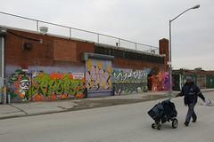 USPS (Scoboco) Tags: streetart graffiti gothamist usps bushwick eastwilliamsburg nycpostalworker nyclettercarrier