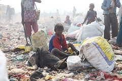 The Kachra Project (Sharma Rohit) Tags: poverty boy india trash children kid garbage child delhi indian poor young newdelhi landfill