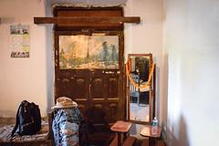 Hotel Room (Leonid Plotkin) Tags: india hat hotel mirror asia room motel backpacking backpack motelroom backpacker hotelroom allahabad