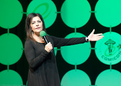 Marina Sirtis (allisoncheri) Tags: seattle startrek washington unitedstates emeraldcitycomicon eccc marinasirtis