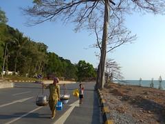 sur la route de Kampot  l'arrive sur Kep (jmhau94) Tags: cambodge cambodia kep charge mre peine labeur kepsurmer
