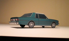 '78 Chevy Impala (jcarwil) Tags: chevrolet car paper toy model craft chevy 1978 impala 78 papercraft 2015 jcarwil