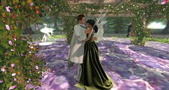 Vinya Loa/ Yestar (Osiris LeShelle) Tags: life flowers party music dance spring heart ceremony meadow medieval fantasy secondlife gathering second roleplay avilion quende