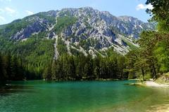 Grüner See / Green Lake (rudi_valtiner) Tags: lake alps green water austria see österreich spring wasser grün alpen steiermark springtime autriche frühling styria hochschwab grünersee trenchtling tragös oberrort