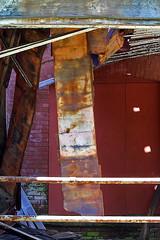 Falling apart 2 (cheryl.rose83) Tags: brick wood metal fallingapart