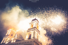 Viva la Patria!! (Mariano Colombotto) Tags: city nightphotography church argentina night lights luces nikon cathedral fireworks catedral iglesia ciudad celebration bicentennial fuegosartificiales tucuman festejos bicentenario sanmigueldetucuman catedraldetucuman nikonphotography nikond610