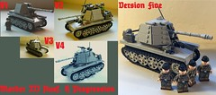 Marder III H Progression (-PanzerGrenadier1-) Tags: world two war tank lego iii h ww2 afv 138 sdkfz marder ausf panzerjager panzerjaeger