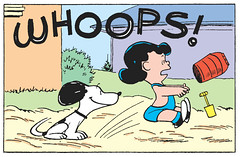 WHOOPS! (Tom Simpson) Tags: peanuts charliebrown comics snoopy dog charlesschulz charlesmschulz comicstrip newspapercomics 1954 1950s illustration vintage funny whoops