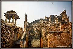 ZAFAR MAHAL RUINS, DELHI. (Smit Sandhir) Tags: zafar mahal ruins canon eos 450d delhi history historical mosque last mughal bahadur shah mehrauli dome photography india dslr dynasty