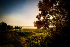 Wawne Sunset #2 (connorcinhull) Tags: sunset wawne sony a6000 wide angle color colour connor campbell amateur photo photograph photography hull sky outdoor cloud landscape field dusk