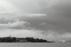 Suomenlinna (Cano Vri) Tags: 2016 archipelago bw clouds helsinki outdoors sea sky suomenlinna