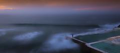 Bondi swimmer (Tonitherese) Tags: ocean sea beach pool bondi waves sydney australia swimmer icebergs