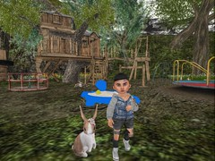 Bunny Play (Zaidood -Lil & Big Blogger-) Tags: virtural reality toddleedoo secondlife sky shoes sneakers sand storms clouds cute cat kitty kids playground trees taketomi littlemiss hoodie treehouse jacket bunnies slide park photography boys photographer photo photooftheday photograpy pictures people pc pretty pose poses blogger blogging babies blue buildings black muddpuddles halfdeer whatnext foreign nature outside ss flite