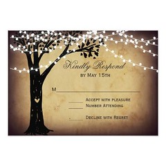 (String of Lights Rustic Oak Tree Wedding RSVP Card) #CarvedHeart, #CarvedTree, #Country, #CountryStyleWedding, #CountryThemeWedding, #CountryWesternWedding, #Lights, #Nature, #Oak, #OakTree, #Outdoors, #Reply, #Response, #Rsvp, #Rustic, #RusticCountry, # (CustomWeddingInvitations) Tags: string lights rustic oak tree wedding rsvp card carvedheart carvedtree country countrystylewedding countrythemewedding countrywesternwedding nature oaktree outdoors reply response rusticcountry rusticcountrywedding rusticwedding stringlights vintage vintagewedding woodland is available custom unique invitations store httpcustomweddinginvitationsringscakegownsanniversaryreceptionflowersgiftdressesshoesclothingaccessoriesinvitationsbinauralbeatsbrainwaveentrainmentcomstringoflightsrusticoaktreeweddingrsvpcard weddinginvitation weddinginvitations