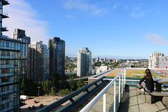 Rooftop View - Vancouver, BC (The Web Ninja) Tags: travel canada mountains building rooftop architecture vancouver canon buildings photography photo downtown bc view explorer scenic rocky columbia canadian explore photograph british traveling traveler vancity 70d explored canon70d