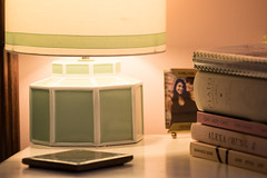 Bedtime stories (Irina1010) Tags: nightstand lamp books photo stories reading bedtimestories interior light canon