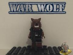 Custom Lego War Wolf (AntMan3001) Tags: war wolf lego custom marvel minifigure