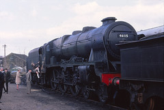 46115 in 1968 (Terry's Railways) Tags: 46115 scotsguardsman haworth