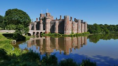 Herstmonceux Castle (Explored #8) (tsbl2000) Tags: herstmonceux castle panasoniclumixlx100 sussex scenery medieval