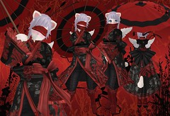 Crimson Wanderer (SerenitySemple) Tags: secondlife furry fashion barerose ayashi hairfair kreaokujisawa cubiccherry cubiccherrykreations romp origami asian fantasy mokyu utilizator anime animehead kawaii