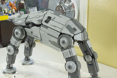 LEGO Star Wars TFA First Order Walker (LegoSpencer11) Tags: lego star wars first order walker base defense force awakens tfa legos legospencer spencer hubert