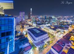Trung Tm Saigon lung linh v m (L Quyn | 01239.369.779 |) Tags: saigon hochiminh city skyline citycapse landscape night long exposure