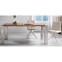 ulric-180-o-220-fisso-in-rovere-massello-tavolo-la-forma (design italiano) Tags: tavoli casa arredamento arredare sala soggiorno cucina