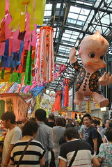 nagoya15762 (tanayan) Tags: urban town cityscape aichi nagoya japan nikon j1 shopping street road alley tanabata endoji