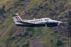 RAF King Air, 45(R) Sqn Centenary, Dunmail. 1/8/16 (TheSpur8) Tags: other aircraft date uk skarbinski lakedistrict landlocked military lowlevel dunmailraise 2016 anationality places transport