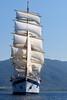 Royal Clipper Under Sail IMG_4465 (SunCat) Tags: royalclipper goldenhorn barenecessities cruise travel vacation europe 2016 all canon powershot g3x nude naturist naturists poros greece tallship