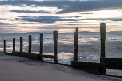 Old groynes (allybeag) Tags: dubmillpoint beach allonby sunset groynes