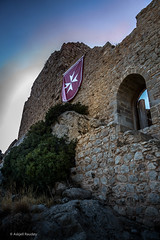 Kritinia Castle (Askjell's Photo) Tags: aegeansea castle fortress greece hellas kastellos knightshospitaller knightsofstjohn kritinia mediterraneansea rhodes rhodos rodos medieval middleage
