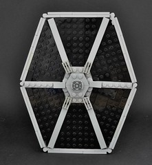 TIE fighter (2) (Inthert) Tags: lego ship empire pilot moc star wars solar panel twin ion engine tie fighter imperial
