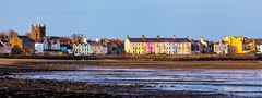 Beaumaris, Anglesey (A.I.D.A.N.) Tags: anglesey wales coast beach houses colours colourful church coastline beaumaris blue cloudless townscape water sea pebbles canon canon5dmarkii canon5dmkii canoneos5dmarkii 5d markii colour