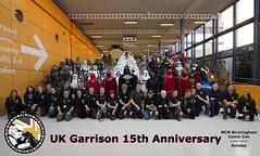UKG 15th Anniversary Group Photo - at MCM Birmingham Comic Con - Spring 2015 - Sunday (AdinaZed) Tags: uk birmingham comic 501st con memorabilia troop garrison 501 mcm ukg ukgarrison