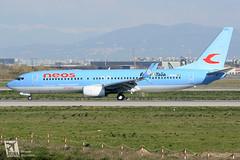 Boeing  B737-800, Neos, I-NEOW (DrinkyB) Tags: rome roma boeing split fiumicino scimitar fco neos b737 b737800 b738 lirf ineow