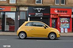 Fiat 500 Glasgow 2015 (seifracing) Tags: rescue cars ford volkswagen mercedes scotland cops fiat scottish clio security voiture renault vehicles porsche vans van emergency audi spotting services strathclyde scania vauxhall ecosse seifracing