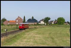 Selfkantbahn MEG T 13 - 24 (Spoorpunt.nl) Tags: juni t meg 9 24 13 wismar trein pfingsten 2014 stoom dampf kleinbahn pinksteren triebwagen smalspoor selfkantbahn schierwaldenrath starzend