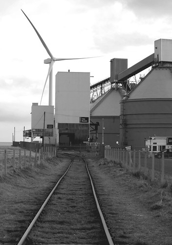 Rail Tracks to Reclamation Plant - Cambois
