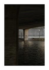 Walk by the river (kalleberglind) Tags: bridge river sweden stockholm