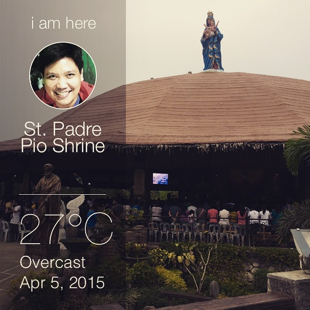 Easter Sunday at St. Padre Pio Shrine