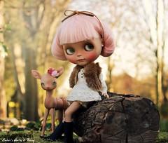 Sunshine (pure_embers) Tags: uk pink holiday cute girl sunshine set hair outside photography doll dolls tan fanny deer fawn butter bjd blythe neo custom pure takara amity embers nympheas tinycutethings nympheasdolls pureembers nenelleetlalluli embersamity