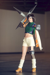 Cosplay Yuffie - Final Fantasy VII (flexgraph) Tags: japan expo cosplay epic sud japanexpo