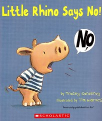 Little Rhino Says No! (Vernon Barford School Library) Tags: new school fiction word reading book words high no yes library libraries reads books etiquette read paperback cover junior novel covers bookcover feeling middle behavior vernon quick recent qr bookcovers feelings paperbacks behaviors manners novels fictional picturebooks behaviour barford softcover behaviours quickreads quickread vernonbarford softcovers timwarnes picturebooksforchildren 9780545839051 littlerhinosaysno traceycorderoy