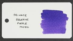 Private Reserve Purple Mojo - Word Card