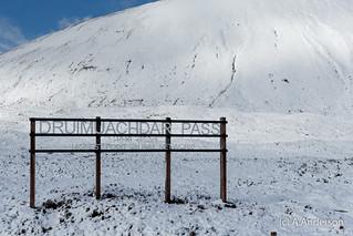 Druimuachdar Pass 20150412 Cairngorms