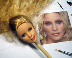 brittany (HADI ROUH) Tags: girls fashion toys james doll wake with body madonna ken barbie veronica louise declan poppy bond giftset dynamite coven royalty parker 007 hadi integrity ciccone 2015 repaint repainted rouh